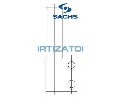 Амортизатор SACHS 110280, RENAULT SUPER 5 (B/C40_), передний, масляный