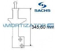 Амортизатор SACHS 170160, VW PASSAT (3A2, 35I), VW PASSAT Variant (3A5, 35I), передний, газомасляный