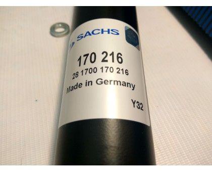 Амортизатор SACHS 170216, VW GOLF II (19E, 1G1), VW GOLF III (1H1), VW JETTA II (19E, 1G2), VW VENTO (1H2), задний, масляный