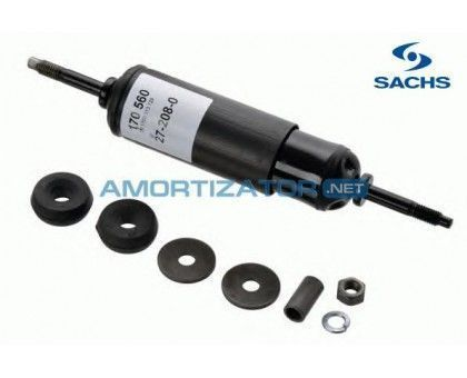 Амортизатор SACHS 170560, FIAT 126, FIAT 500, задний, масляный