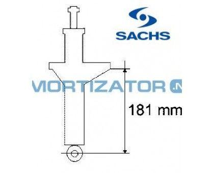 Амортизатор SACHS 193008, масляный