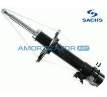 Амортизатор передний правый на Nissan Almera II (N16) с 2000, газомасляный Sachs 313851